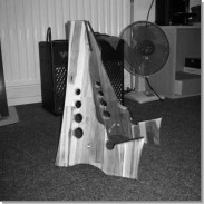 Guitar stands from scrap wood